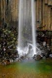 Svartifoss falls Stock Images