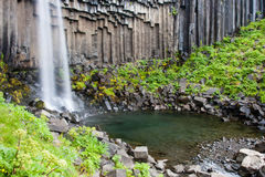 Svartifoss Iceland Royalty Free Stock Photo