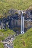 Svartifoss Waterfall, Iceland Royalty Free Stock Photos