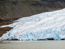 Svartisen glacier Stock Photo