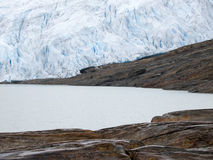 Svartisen Glacier, Norway Royalty Free Stock Image