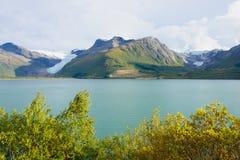 Svartisen Glacier. View of the Svartisen Glacier, Norway Stock Photos