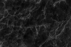 Svartmarmortextur i åder och lockiga sömlösa modeller som är abstrakta för bakgrund arkivbild