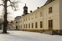 Svartsjö Palace wintertime Royalty Free Stock Photo