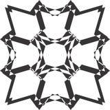 Svartvit abstrakt bakgrundsvektorbild Royaltyfria Bilder
