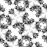 Svartvit abstrakt bakgrundsvektorbild Fotografering för Bildbyråer