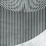Svartvit abstrakt modern inre detalj arkivfoto