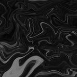 Svartvit abstrakt naturlig marmor för marmor & x28; gray& x29; för design Royaltyfria Bilder
