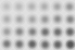 Svartvit bakgrund, abstraktion, cirklar Arkivfoton