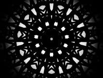 Svartvit bakgrund för Glass takabstrakt begrepp, byggande stru Fotografering för Bildbyråer