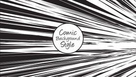 Svartvit bakgrund för popkonst med komisk stil vektor illustrationer