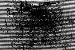 Svartvit closeup för Grunge av avriven tygtextur Royaltyfri Fotografi