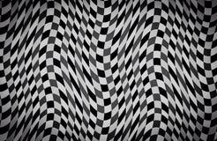 Svartvit färgbakgrund för abstrakt våg Arkivbild
