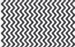 Svartvit färgbakgrund för abstrakt våg Royaltyfria Foton