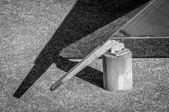 Svartvit geometri Fotografering för Bildbyråer