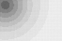 Svartvit halvtonabstrakt begreppbakgrund Royaltyfria Foton