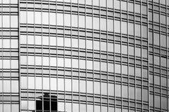 Svartvit Hong Kong modern arkitektur Royaltyfria Bilder