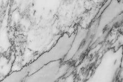 Svartvit marmortextur Royaltyfri Bild