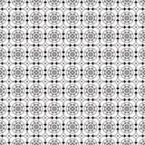 Svartvit monokrom geometrisk grafisk modell Arkivbilder