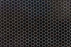 Svartvit prickig rastrerad vektorbakgrund Royaltyfri Bild