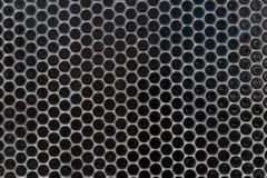 Svartvit prickig rastrerad vektorbakgrund Subtil regula arkivfoton