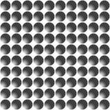 Svartvit sömlös geometrisk modell vektor Royaltyfri Bild