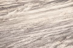 Svartvit sand för bakgrundstextur modellnatur lanzarote Arkivfoton