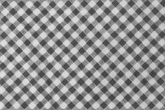 Svartvit skogsarbetare Plaid Seamless Pattern Arkivfoto