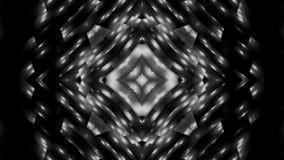 Svartvit stjärna för abstraktion Royaltyfria Bilder
