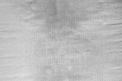 Svartvit textur för abstrakt tyg Arkivbild