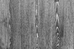 Svartvit träbakgrund av vertikal textursvart stiger ombord arkivbilder
