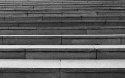 Svartvit trappa Arkivfoto