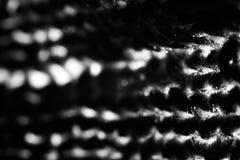 Svartvit tygbakgrund för abstrakt kontrast, foto Fotografering för Bildbyråer