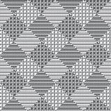 Svartvit vektorbakgrund Royaltyfri Fotografi