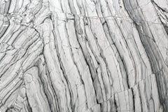 Svartvita grå färger för abstrakt naturlig marmor för design Fotografering för Bildbyråer