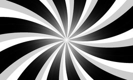 Svartvita radiella linjer bakgrund för tappninggrunge Royaltyfria Foton