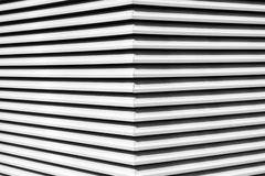 Svartvitt arkitektoniskt abstrakt begrepp Royaltyfria Bilder
