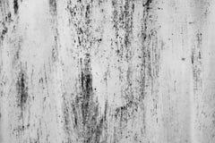 Svartvitt damm och skrapade texturerade bakgrunder med brunnsorten Arkivbilder
