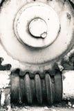 Svartvitt foto för kugghjulhjul Royaltyfri Bild