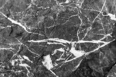 Svartvitt marmorera bakgrunds- och texturmodellen med h?g uppl?sning arkivbilder