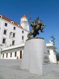 Svatopluk雕象  库存图片