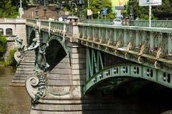 Svatopluk Cech Bridge - Prague - Czech Republic Royalty Free Stock Image