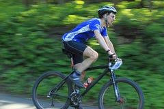Svatopluk Dvorak - corsa estrema della bici di montagna Fotografie Stock Libere da Diritti