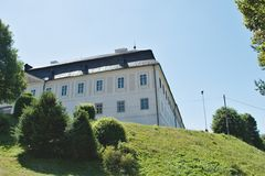 Svaty Anton. The Svaty Anton mansion, also known as the Antol Manor or the Kohariov Manor, is a manor house located in the village of St. Anton Stock Photo