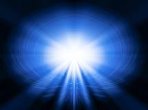 Svchenie abstrait avec le flux lumineux images libres de droits
