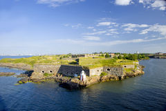 Sveaborg fortress Stock Images