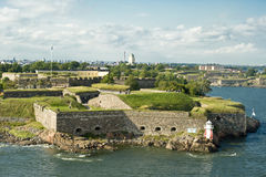 Sveaborg fortress Royalty Free Stock Photography