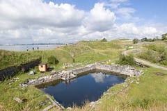 Sveaborg fortress Stock Image