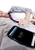 Sveglia del telefono cellulare Immagine Stock Libera da Diritti