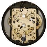 Sveglia dell'annata del movimento a orologeria Fotografie Stock Libere da Diritti